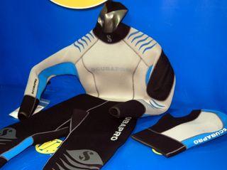 Deportes acuaticos-Traje neopreno Talla S-SCUBAPRO
