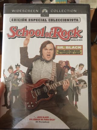 Dvd película School of Rock