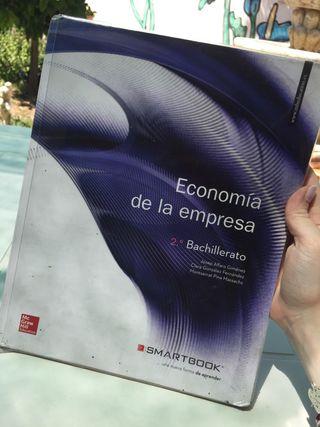 Libro 2 bachillerato economia de la empresa