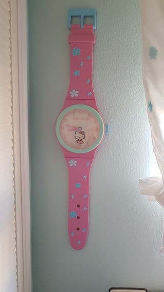 Reloj Hello Kitty pared