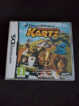 juego Ds super star Kartz