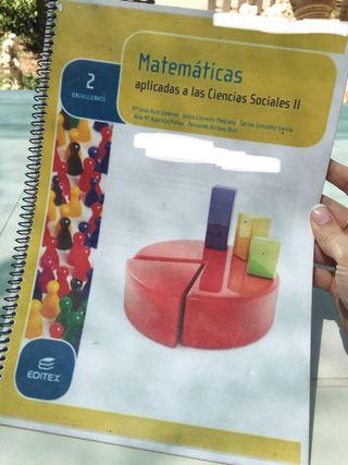 Libro matematicas ciencias sociales 2 bachillerato