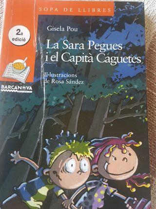La Sara Pegues i el Capita Caguetes