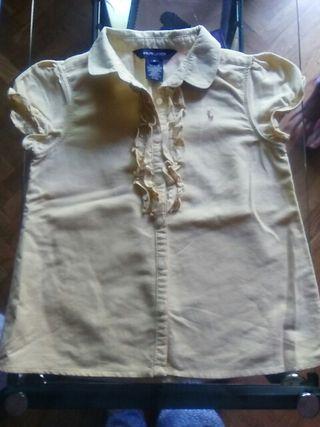 Camisa niña Ralph Lauren