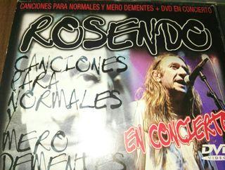 CD Rosendo. CD y DVD