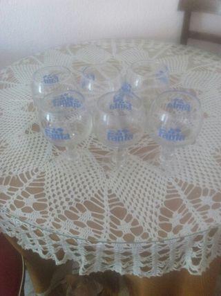 conjunto copas de fanta