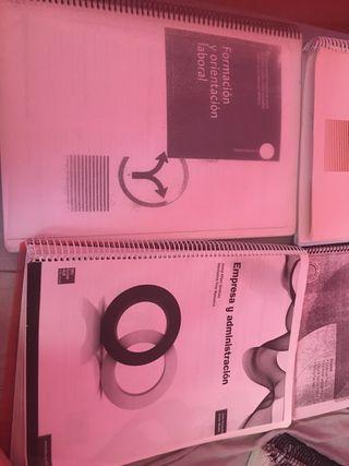 Libros Gestión Administrativa grado medio
