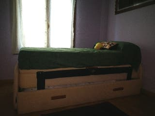 Estructura cama nido con arcón