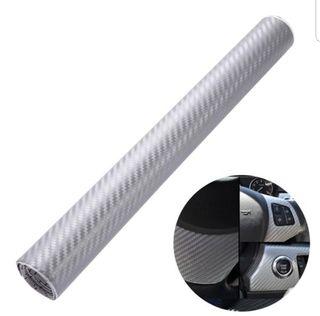 Rollo 2 metros Fibra de carbono adhesiva A ESTRENA