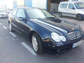 Mercedes-Benz Clase C180 sportcoupe 2002