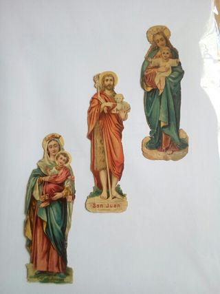 3 estampas religiosas x 3€