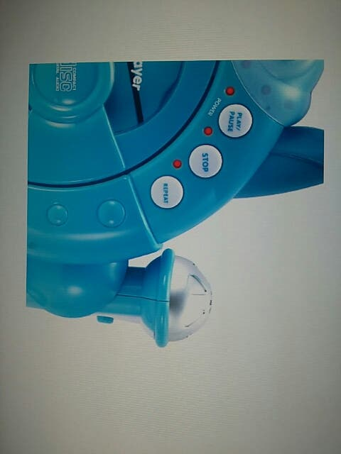Reproductor CD portátil con 2 micrófonos. Imaginar