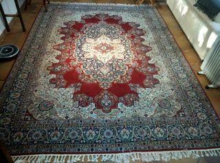 alfombra persa tejida a mano