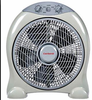 Ventilador marca Corberó.