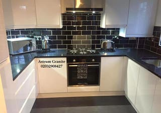 Get Absolute Black Granite for Kitchen & Home UK