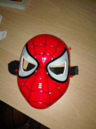 Mascara spiderman autentica