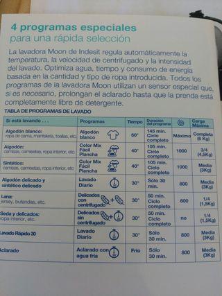 lavadora Indesit Moon 6 kg