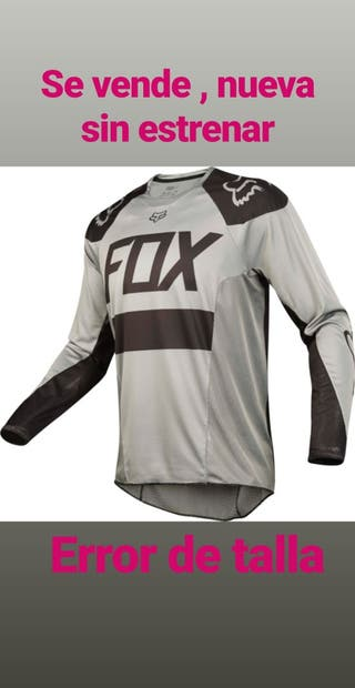 camiseta fox mx