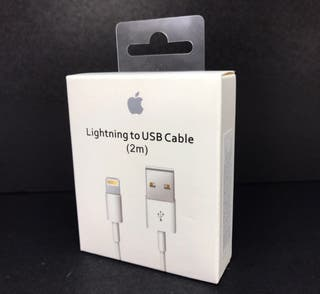 ENVÍO GRATIS USB 2M APPLE ORIGINAL IPHONE CARGADOR