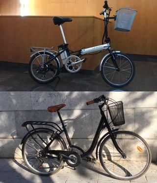 Oferta Pack Bici Electrica Plegable + Bici Paseo