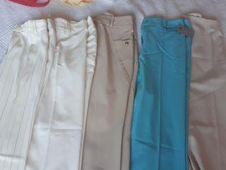 5 pantalones nuevos. algunos con etiqueta.