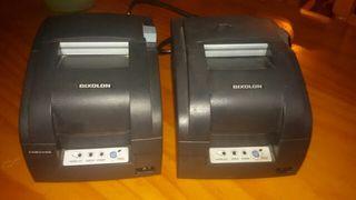 impresoras de tickets matriciales. y lector codigo