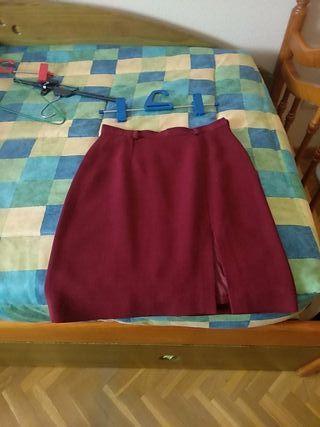 Falda de vestir.