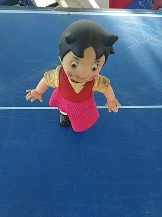 Muñeca Heidi a Cuerda Antigua