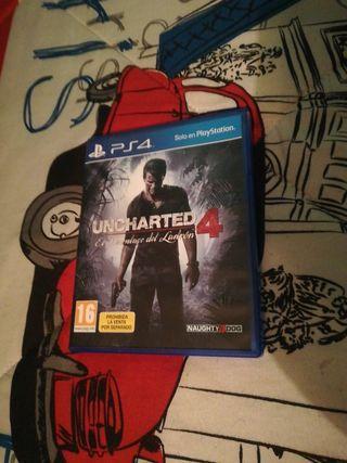 Juego Uncharted 4,El desenlace del ladrón para PS4