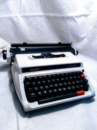 máquina de escribir vintage.
