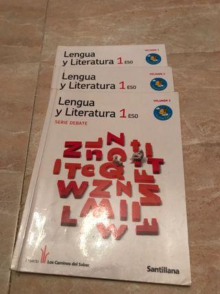 Libros 1 eso, lengua y literatura