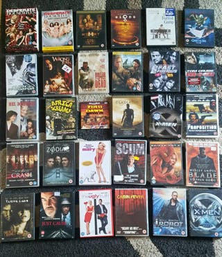 Varied DVD Collection