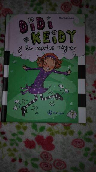 libro juvenil DIDI KEIDY