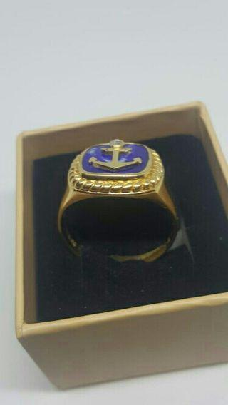 sello oro con brillante de galeria coleccionista