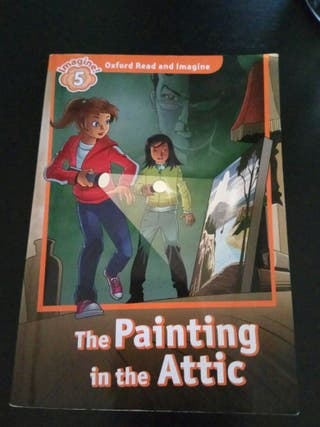 """Libro lectura inglés """"The painting in the attic""""."""