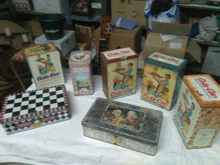 lote de cajas de chapa