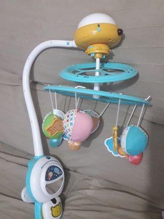 carrusel bebe vtech