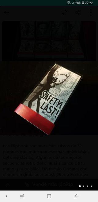 Flipbook Mini Libro Cine Harold Lloyd