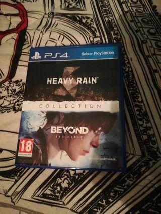 Videojuego Heavy Rain+Beyond(Dos almas)