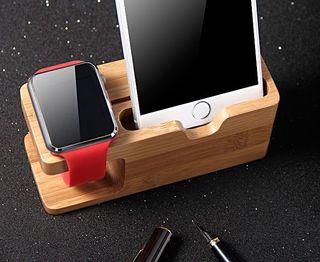 Base de carga IPhone y Apple Watch