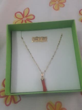 cadena de oro 18k