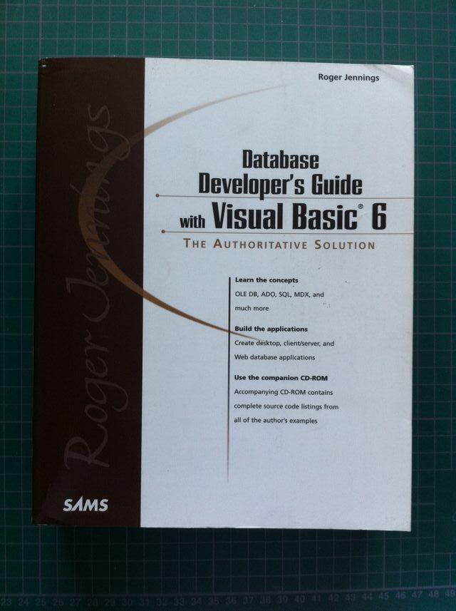 Database Developer's Guide with Visual Basic 6 de segunda