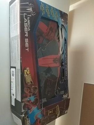 Laser Spiderman
