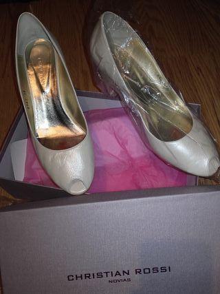 zapatos de novia de segunda mano en la provincia de león en wallapop