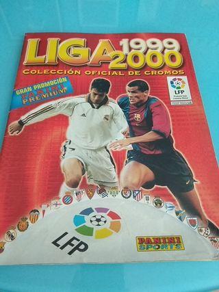 Album cromos Liga 1999 / 2000