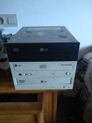 Grabadoras dvd rom