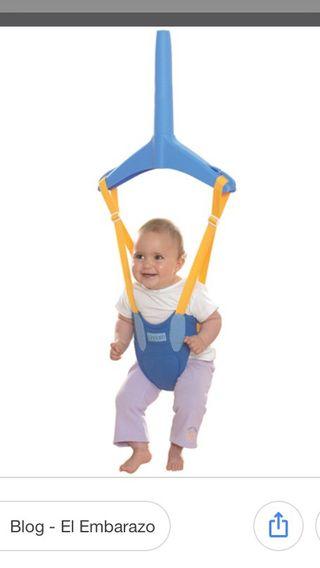 Saltador bebe juguete