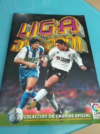 Album cromos liga 2000 2001