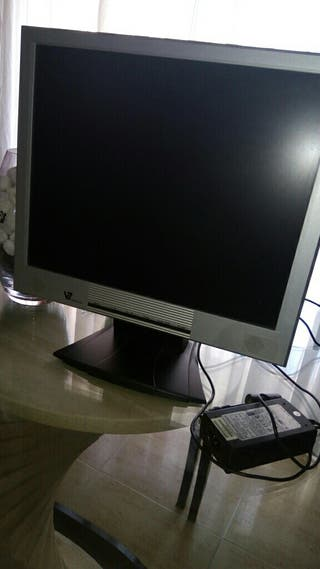 monitor pc + cables