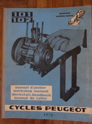 Manual de taller motor PEUGEOT 101/102
